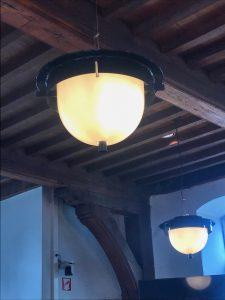 Verlichting in de schepenhuis