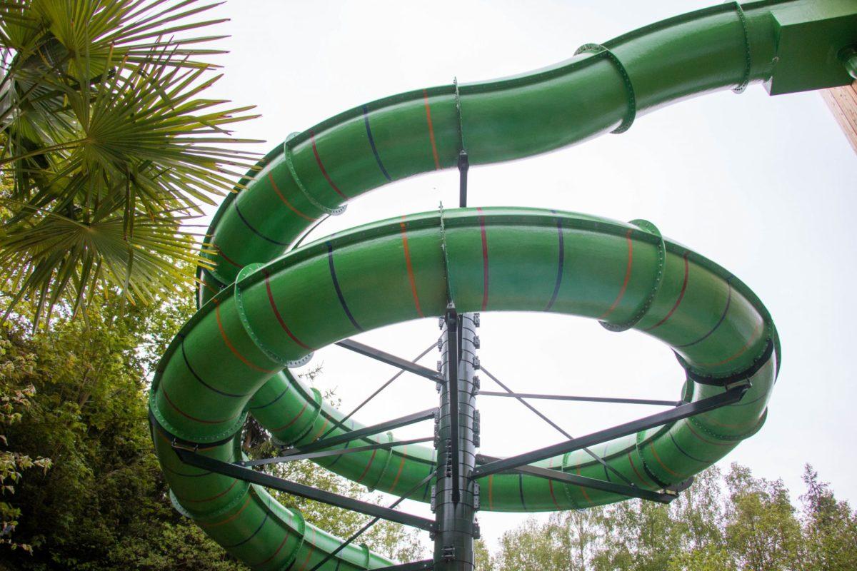 Waterglijbaan Center Parcs