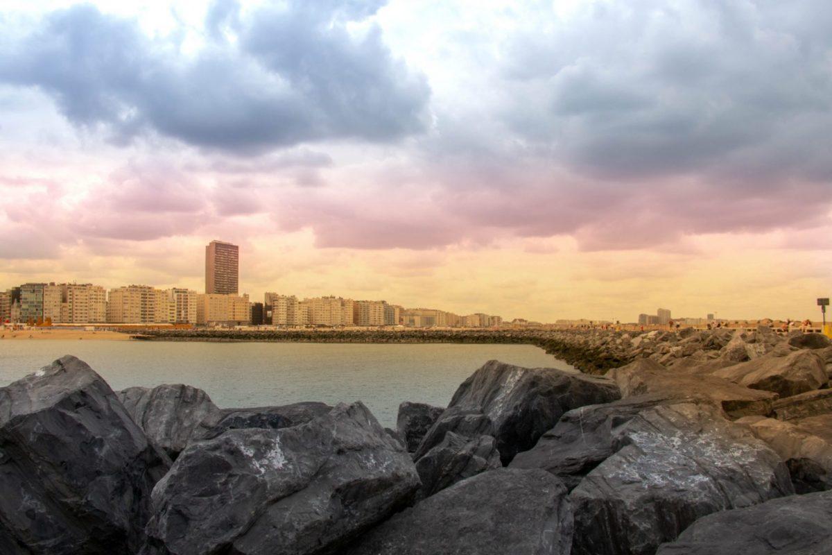 Skyline van Oostende