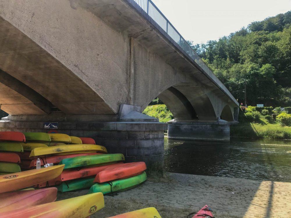 Kayak in Poupehan