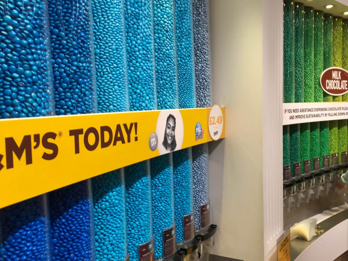 M & M store Londen