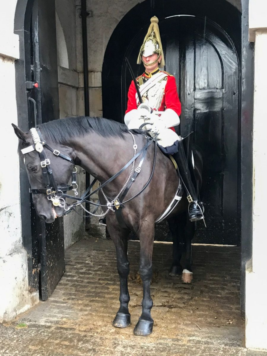 De Horse Guards aan Whitehall