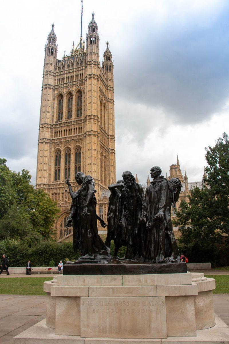 4 daagse in Londen dag 1