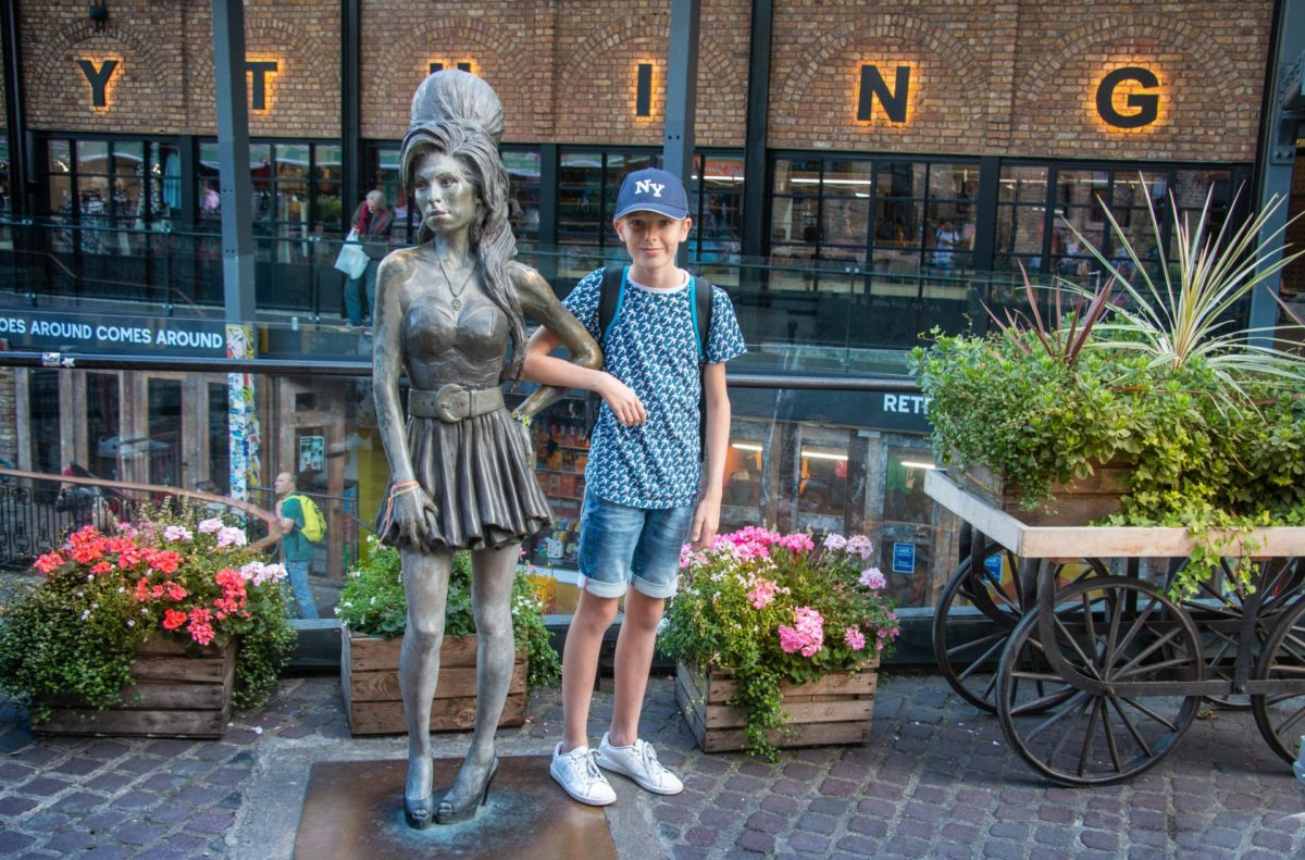 Camden Market Amy Winehouse