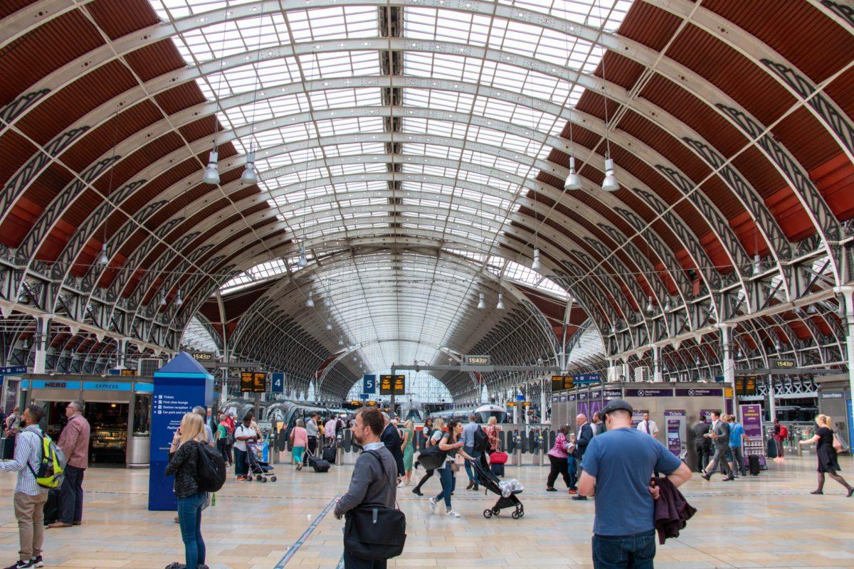 Paddington Station Londen