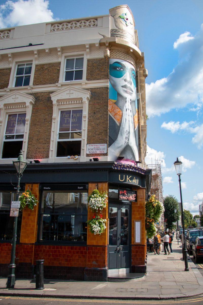 Notting Hill Portobello road