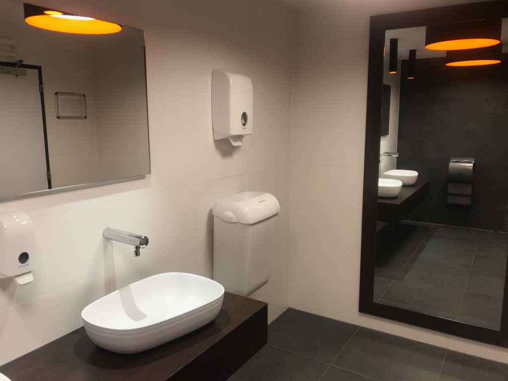 Openbare toilet Qbic Brussel