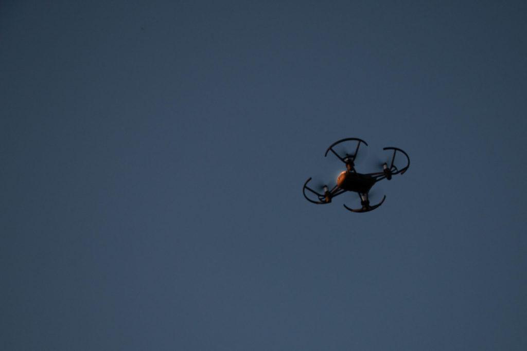 Drone shot