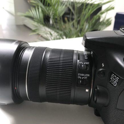 Beeldstabilisator lens fototoestel