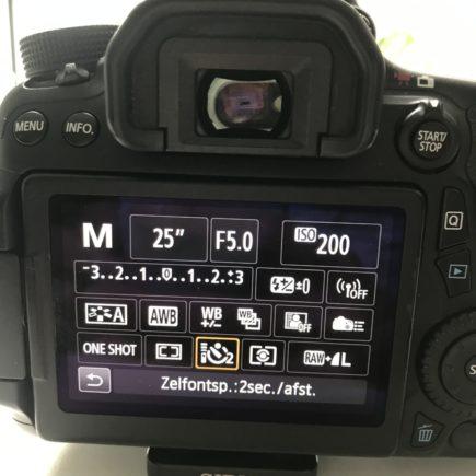 Zelfontspanner fototoestel