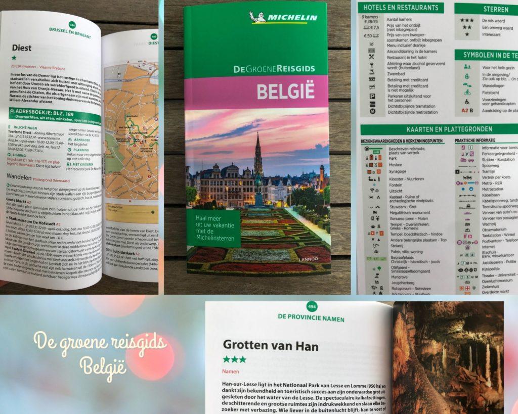 De groene reisgids België