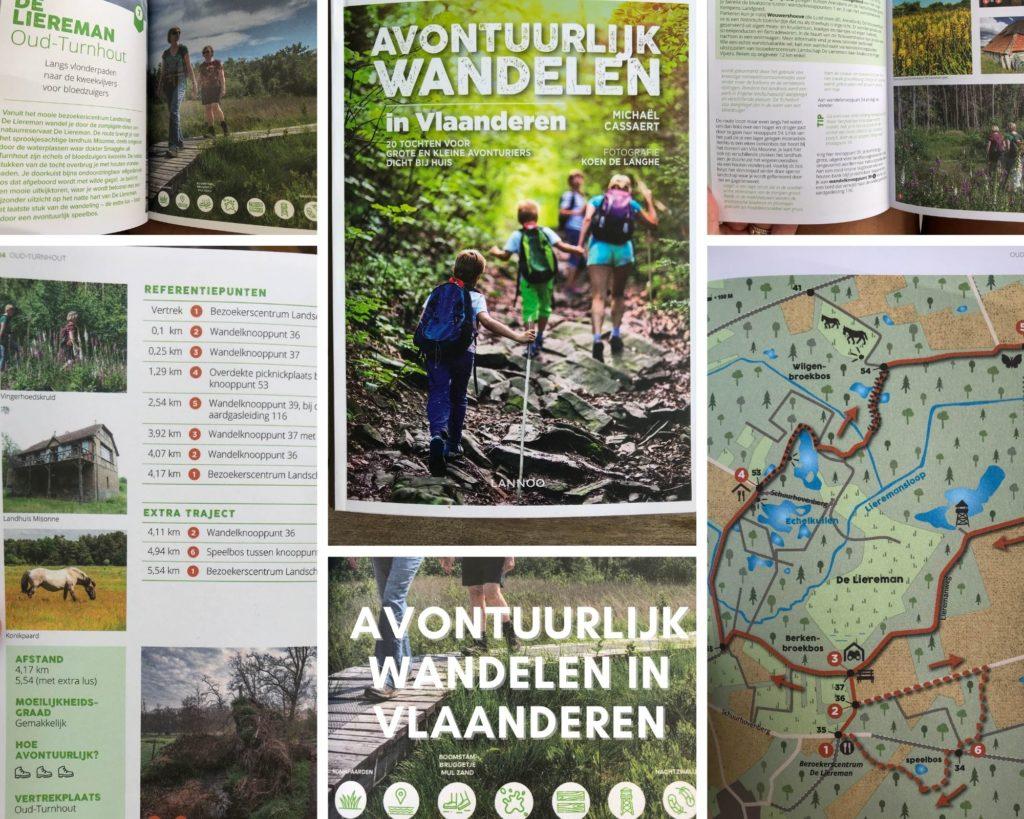 Avontuurlijk wandelen Vlaanderen