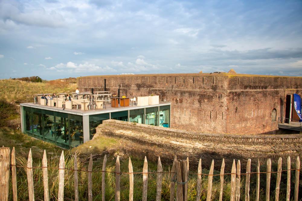 Belevingsbrasserie Fort Napoleon