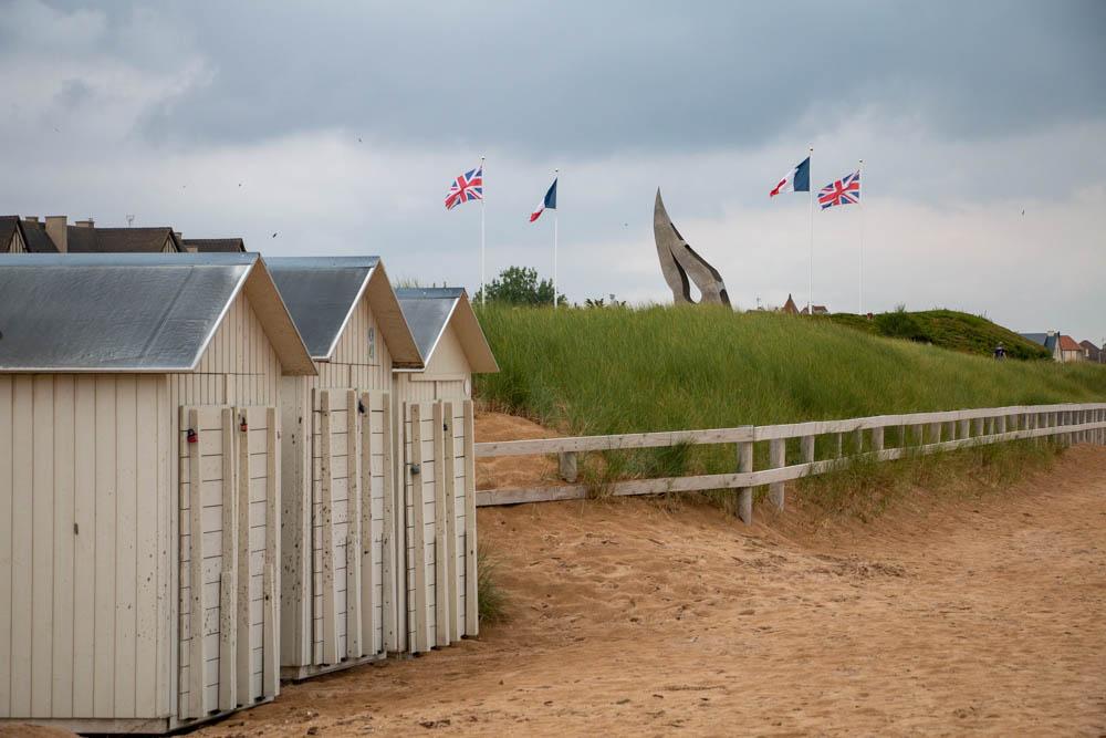 roadtrip door Normandië