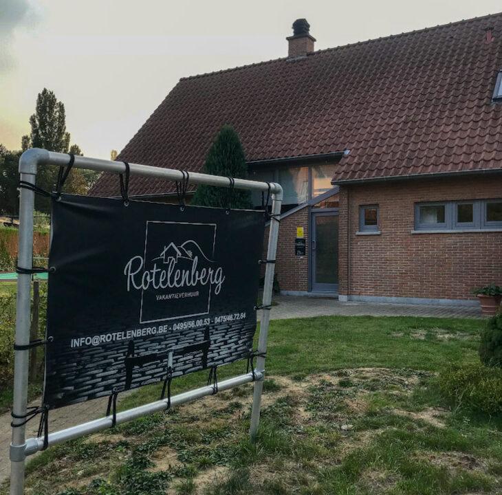 Groepsaccommodatie in het hart van de Vlaamse Ardennen