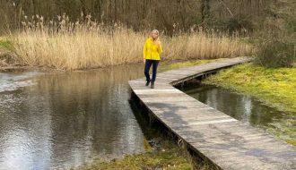 Wandeling in Somergembos en Kluisbos