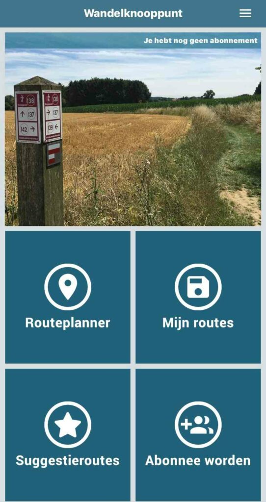 Knooppunten app