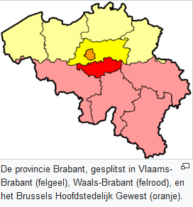 Vlaams en Waals Brabant