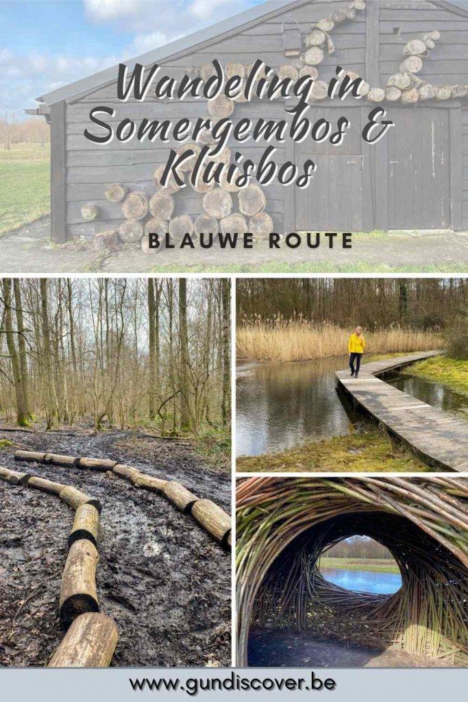 Wandelen in Somergembos en Kluisbos