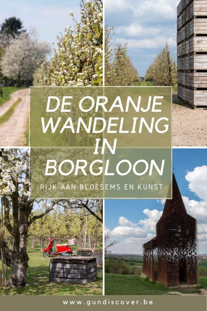 Oranje wandeling Borgloon