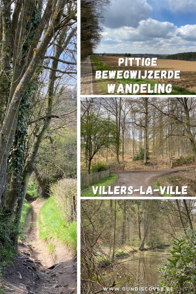 Bewegwijzerde wandeling in Villers-la-Ville