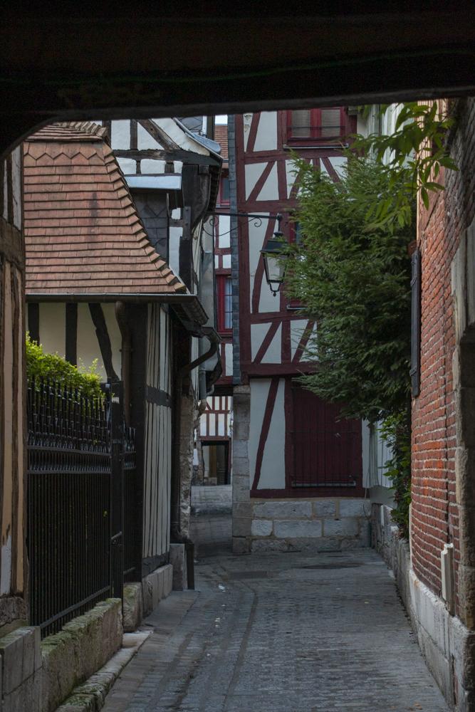 Steegjes in Rouen