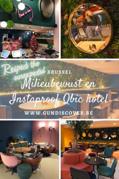 Milieuvriendelijk en Instaproof Qbic hotel