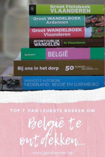 Top 7 van leukste boeken om België te ontdekken